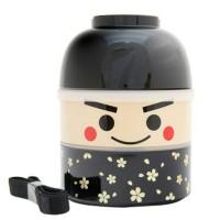 ORI JAPAN Kokeshi Bento Lunch Box Ichiro Box Hakoya Kotak Makan Anak