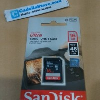 SD CARD SanDisk 16GB Ultra Class 10 (30MB/s) 16 GB SDHC Card Class10