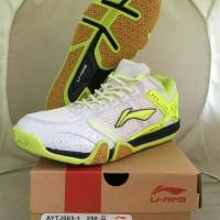harga Sepatu Lining Saga X AYTJ083-1 WHITE Tokopedia.com