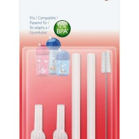 Jual Philips Avent Replacement Silicone Straw + Brush SCF764/00 Murah