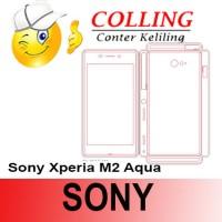 Stiker / Garskin Handphone / all type / Sony / Sony Xperia M2 Aqua