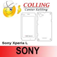 harga Stiker / Garskin Handphone / all type / Sony / Sony Xperia L Tokopedia.com