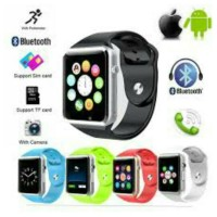 harga JAM TANGAN SMARTWATCH A1 APPLE (Camera, Micro SD, SIM Card). Tokopedia.com