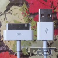 Jual KABEL DATA IPHONE 3GS/4/4S IPAD 1/2/3 IPOD 5/6/NANO/TOUCH | USB 30 PIN Murah