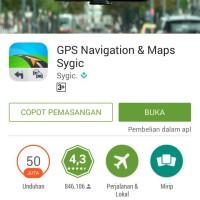 harga Sygic: Aplikasi GPS Navigasi & Peta Offline (dlm microSD 4GB) Tokopedia.com