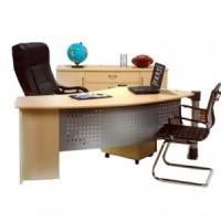 Meja Kantor Direktur Aditech Modern dan Minimalis