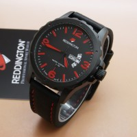 harga Jam Tangan Orignal Reddington R-8039 (black Leather Red) Tokopedia.com