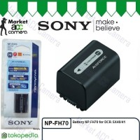 Battery Sony NP-FH70 for XR520E XR500E DCR-SX40 DCR-SX41