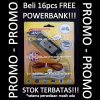Charger Motor USB Anzena Black