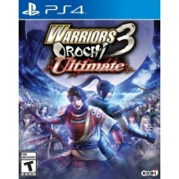 PS4 WARRIORS OROCHI 3 ULTIMATE KASET GAME ORIGINAL