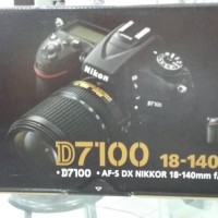 Nikon D7100 Kit 18-140mm Lengkap Bonus