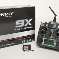 Turnigy 9X 9Ch Transmitter w/ Module & 8ch Receiver (Mode 2) (v2 Firmw