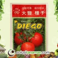 Bibit Buah Tomat Diego @5g Biji Benih Sayuran Tanaman Sayur Hidroponik