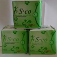 Jual ajib pembalut sco pantyliner herbal anti bakteri jamur keputihan Murah