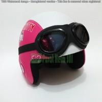Jual Helm Anak Hello Kitty Pink Putih Murah