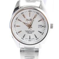 Jam tangan wanita asli merk alba silver murah bagus terbaru AH7A27X1