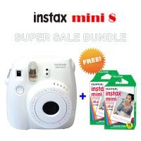 Kamera Instan Fujifilm Instax Polaroid Mini 8 White