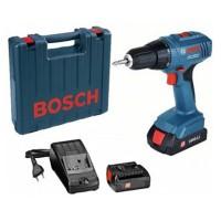 Mesin Bor Obeng Baterai Bosch GSR 1800-Li - 2 Baterai
