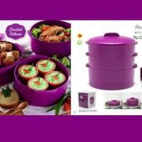 Tupperware Steam It Purple Ungu