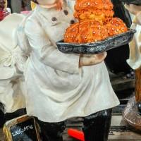 harga Patung Pajangan Koki Chef French Perancis Bread Roti Restoran Tokopedia.com