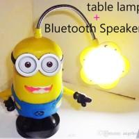harga Mini Portable Bluetooth Speaker Despicable Me Minion Table Lamp Tokopedia.com