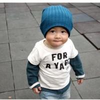 Kupluk Topi Bayi Anak - Kupluk MJ