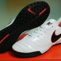 Nike Tiempo Next-Gen 2016 White - TF [Sepatu Futsal] [Replika Import]
