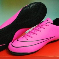 Nike Mercurial Vapor X Pink Storm [Sepatu Futsal] [Replika Import]