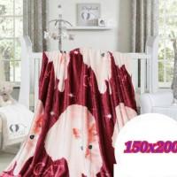 harga selimut bulu motif kucing anggora 150x200 Tokopedia.com