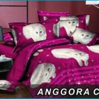 harga bedcover set motif kucing anggora 180x200 Tokopedia.com