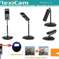 WebCam + Mic A4Tech FlexiCam PK-7MA PC Camera with Lamp / Night Vision