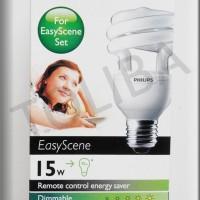 lampu philips easy scene remote hemat listrik 15 watt