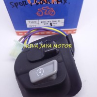 HANDLE SWITCH / SAKLAR KANAN ON OFF LAMPU MIO GT, MIO J,XEON GT,MIO M3