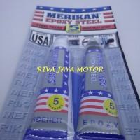 harga Plastic Steel Epoxy Adhesive Merikan, Lem Besi 5 Menit Tokopedia.com