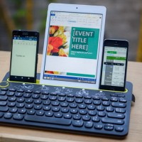 Logitech Keyboard Bluetooth K480 Multi-device Garansi Resmi Original
