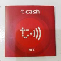 Sticker Kartu t-cash Telkomsel saldo 0