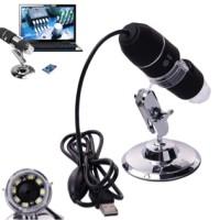 USB Digital Endoscope Microscope 50-500 x Video Camera HD