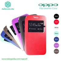 Oppo Mirror 3 Mirror3 Nilkin Leather Case Flipcase Flipcover Cover