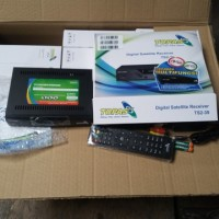 Decoder Topas TV HD (C-band) Bonus Paket All Channel 2 Tahun