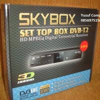 Set Top Box DVB-T2 SKYBOX - Termurah dan Terjangkau dengan Garansi 6 Bulan