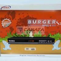 Receiver TV Matrix Burger MPEG4 S2 Parabola C Band