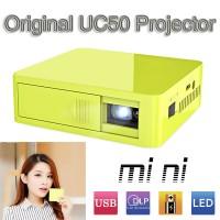 harga Lods Projector Pocket Unic UC50, HD 800 Lumens Built In Battery. Tokopedia.com