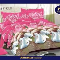 Sprei Kintakun Luxury Sakura Swan Tinggi 25cm 180x200