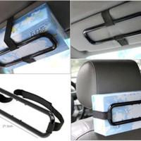 Harga smart car tissue holder penjepit kotak tisu mobil otomotif unik | antitipu.com