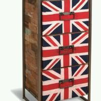Meja Buffet Britania Drawers Antique