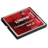 Kingston Compact Flash Memory Card Ultimate 266x (45MB / S) 64GB - CF / 64