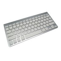 Apple Bluetooth Wireless Keyboard (OEM) - Silver - APKY01SV