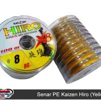 Senar Pancing PE Kaizen Hiro (yellow)