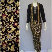 RNB BATIK LEAF GOLD BATIK MODERN KUTUBARU KEBAYA HIJAB LUXURY SIMPLE