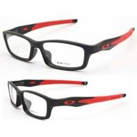 Kacamata Oakley crosslink black red